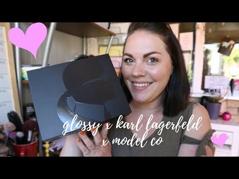 GLOSSYBOX / KARL LAGERFELD / MODEL CO - LIMITED EDITION UNBOXING MAY 2018