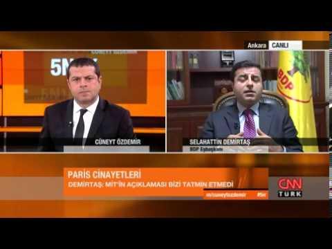 Demirtaş: MİT'in Paris cinayetleri ile ilgili açıklaması bizi tatmin etmedi