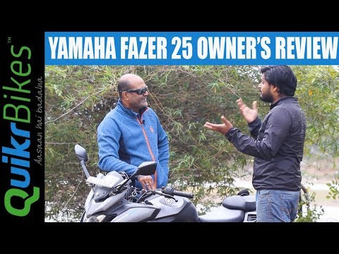 Yamaha Fazer 25 Long-Term Ownership Review | Pros and Cons