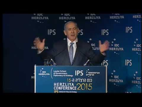 The Honorable Benjamin Netanyahu, Prime Minister of Israel, at the 15th Annual Herzliya Conf