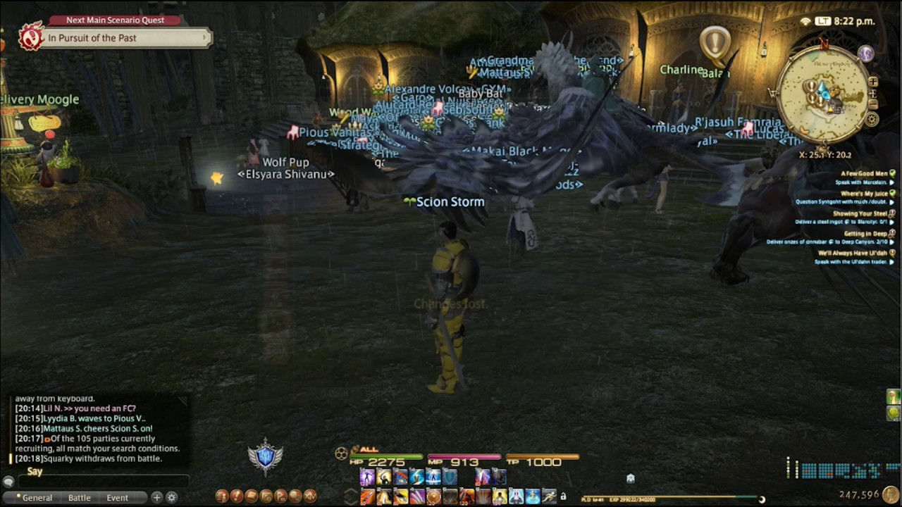 Final Fantasy XIV How to make a clean UI