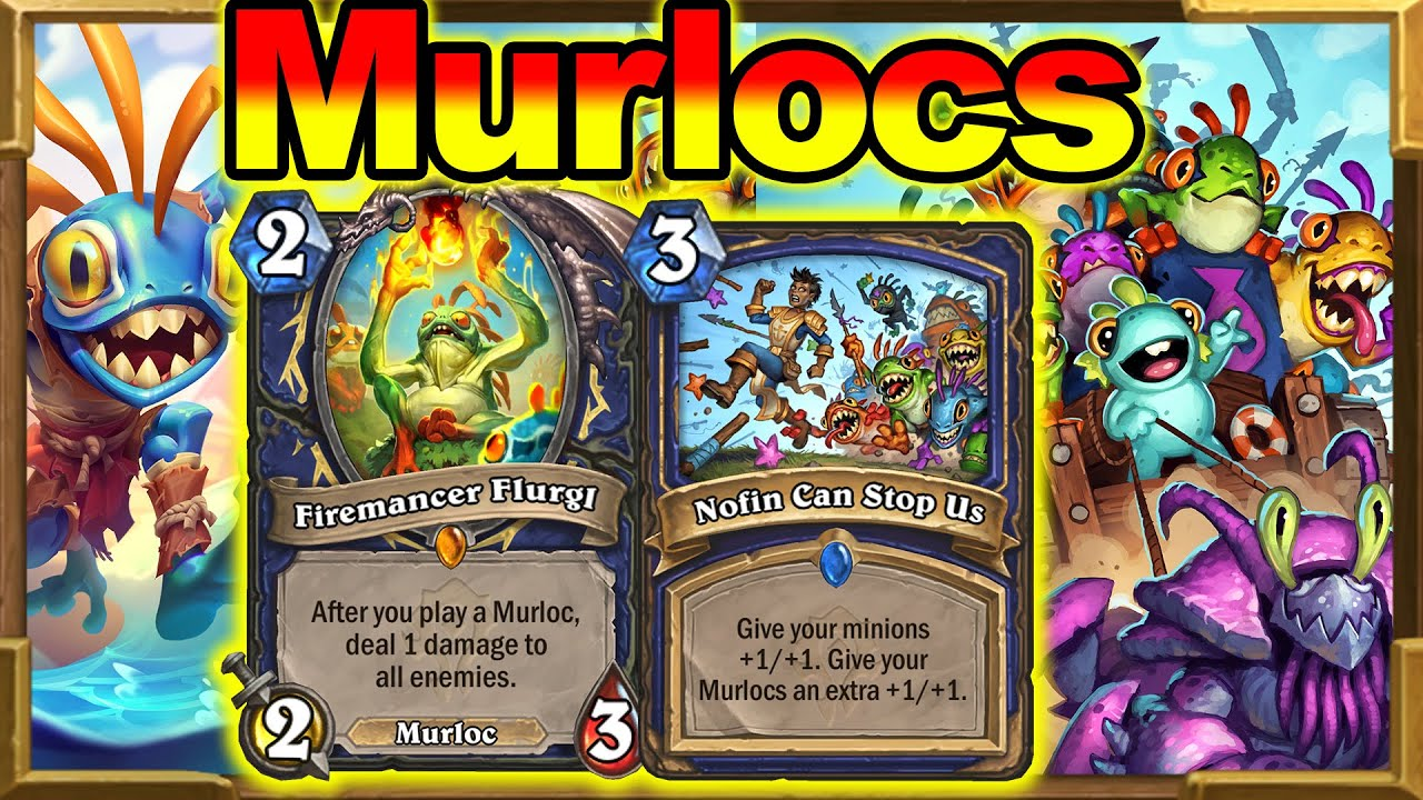 Murlocs Shaman Is Here To Break The Meta! Cutest Deck In The Game! Barrens New Decks | Hearthstone