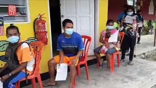 Orang Asli terima vaksin Cansino