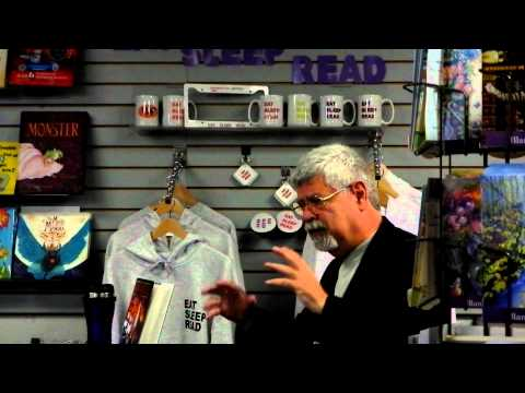 Booksigning: Raymond E. Feist at Mysterious Galaxy, 3/13/2012, Part 1/2