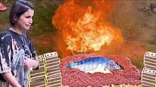 حرقت 100000 عود كبريت بسمكة | اخطر تجربة سويتها | ردنا نحترق😭⚠️