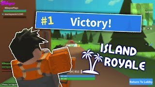 FORTNITE IN ROBLOX?? | Island Royale ( ROBLOX )