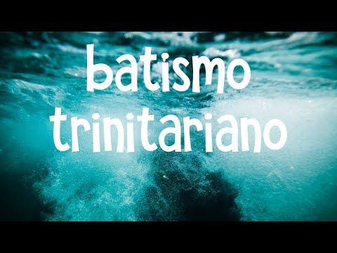 ADVERTÊNCIA sobre o batismo trinitarano