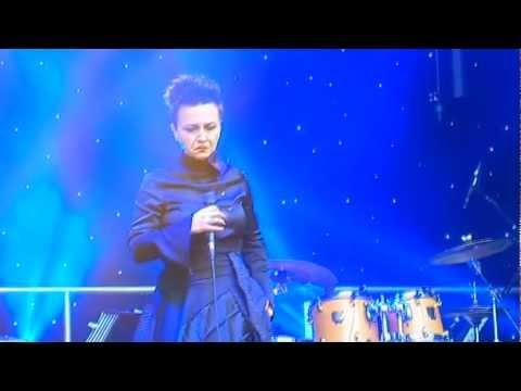 "Bosnian Singer ""Amira Medunjanin*"" BT River Of Music - Europe Stage London 21 Jul 2012"