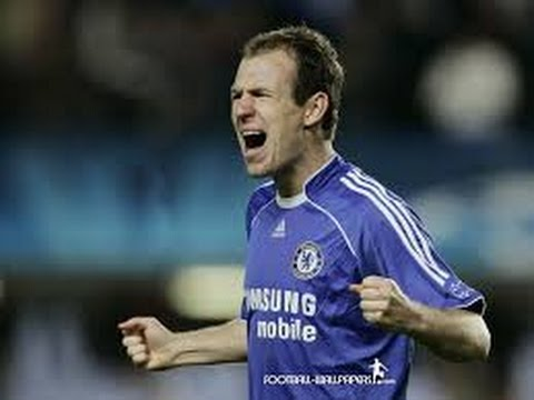 Arjen Robben's 19 Goals For Chelsea
