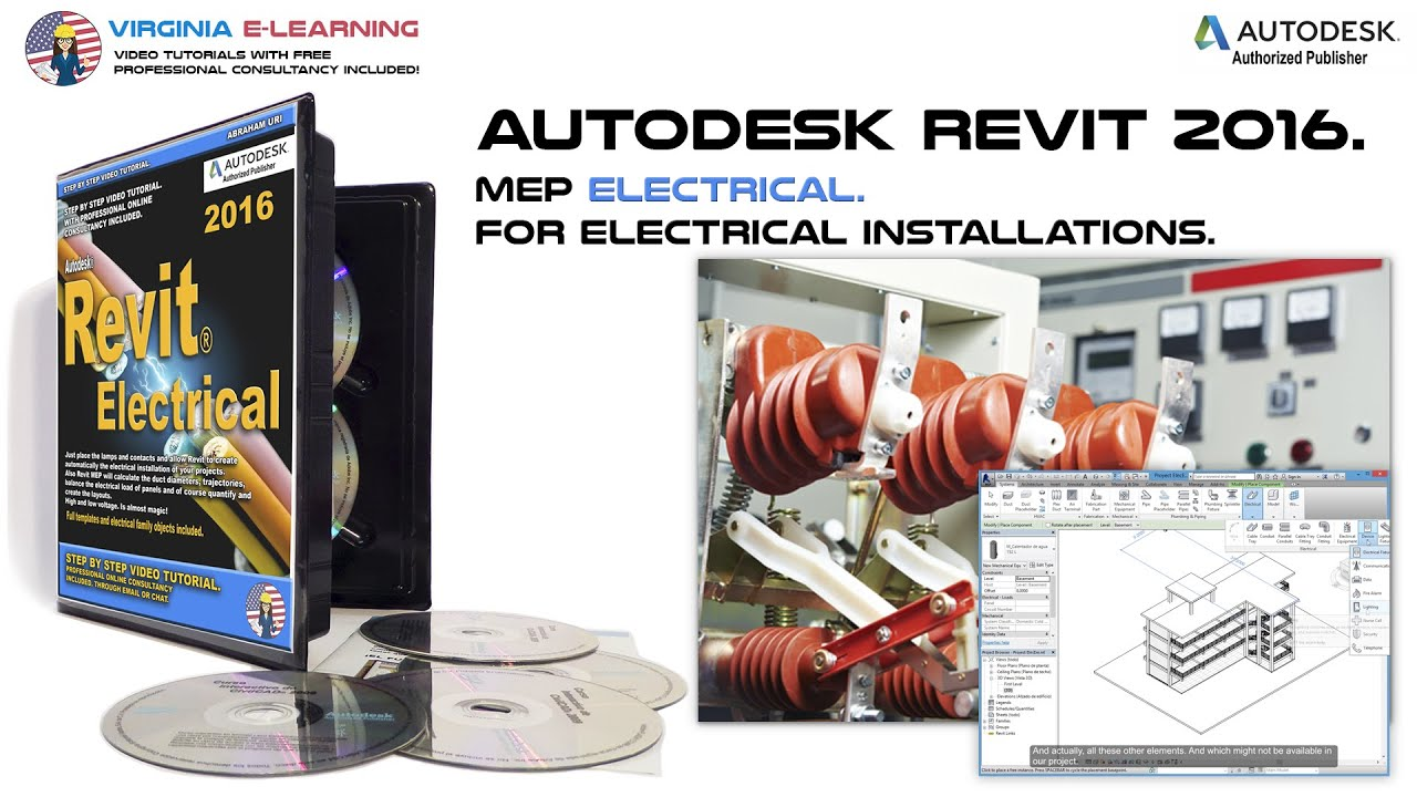 Electrical Equipment │ Autodesk Revit MEP 2016 Tutorial ...