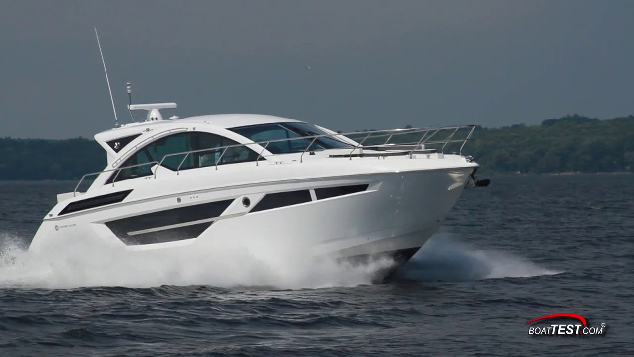 Cruisers Yachts 50 Cantius (2017-) Features Video - By BoatTEST com