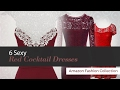 6 Sexy Red Cocktail Dresses Amazon Fashion Collection