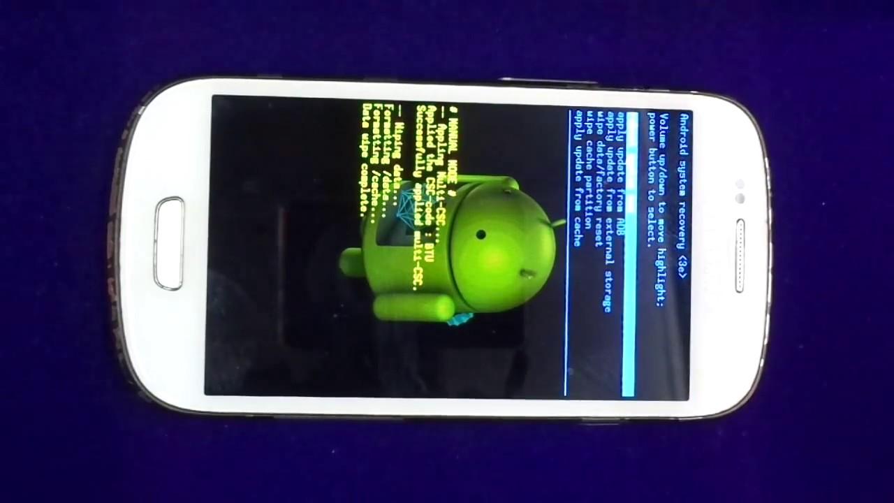 Samsung galaxy s3 mini i8190 power button ways - How To Hard Reset Samsung Galaxy S3 Mini Gt I8190