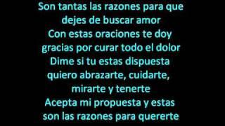 Zmoky Las Razones Para quererte