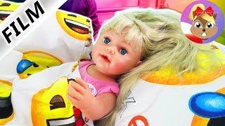 BABY BORN poranne zwyczaje siostry | Kąpiel, opieka nad bliźniętami + lekcja jazdy konnej z mamą