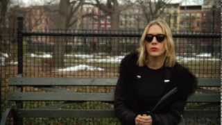 CHLOE SEVIGNY in the East Village for BUST Magazine