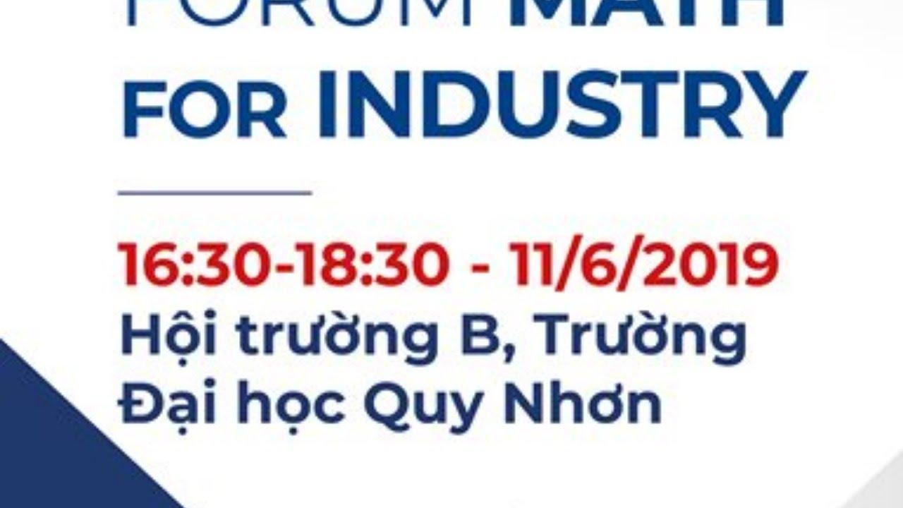 Live stream Diễn đàn Toán trong Công nghiệp (Forum Math for Industry)
