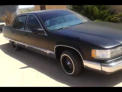Blacked out Cadillac Fleetwood - YouTube
