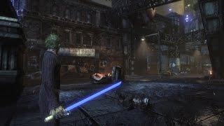 Batman: Arkham City: Lightsaber Mod