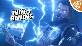 What the Thor 4 Rumors Mean for the Future of the MCU! (Nerdist News w/ Jessica Chobot)