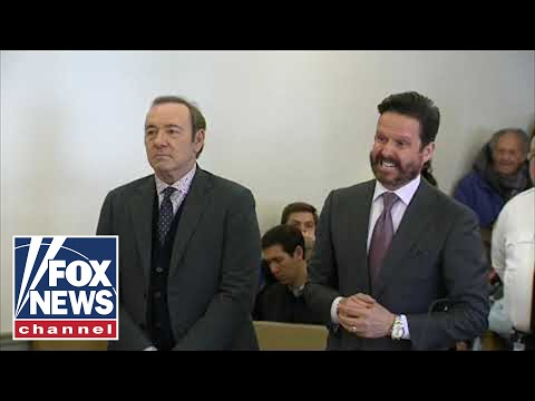 Kevin Spacey appears in court on sexual assault charge