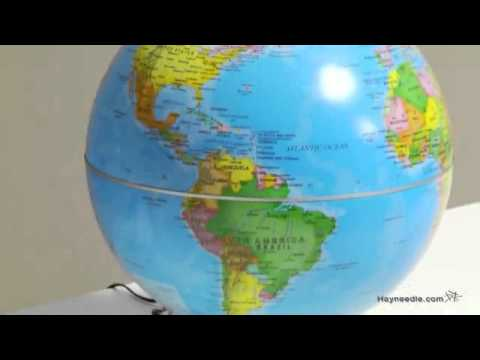 Fascinations City Lights Earth Tabletop Globe   Product Review Video