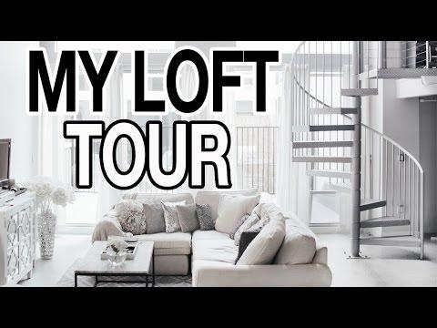 MY OFFICIAL LOFT + ROOM TOUR! 2016