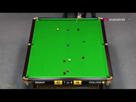 Ronnie O'Sullivan best shots 2016