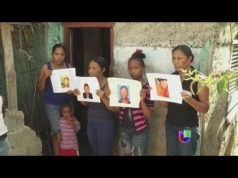 Desesperación por un naufragio en República Dominicana -- Noticiero Univisión