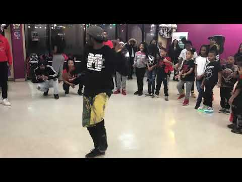 Spider Alexander Solo Performing Josh Taiwan Williams Choreography To Chris Brown -To My Bed