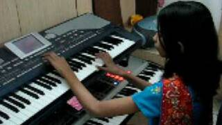 Vande Mataram Lata Mangeshkar - Anand Math Instrumental Music by Indian Girl