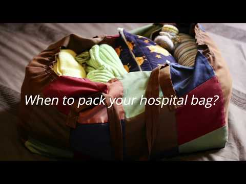 10 Things To Pack In Your Hospital Bag For Baby | What's In My Hospital Bag?