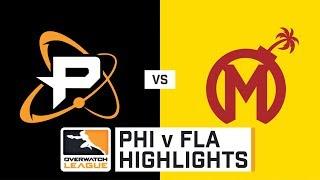 HIGHLIGHTS Philadelphia Fusion vs. Florida Mayhem | Stage 1 | Week 2 | Day 1 | Overwatch League