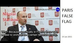 Paris false flag. Nikolai Starikov