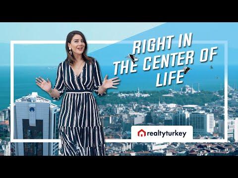Luxury Real Estate Tour in Istanbul Turkey: Nurol Tower