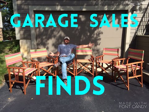 You Won't Believe These Garage Sale Finds