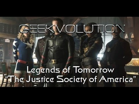 "Legends of Tomorrow S2E2 | ""The Justice Society of America"" 