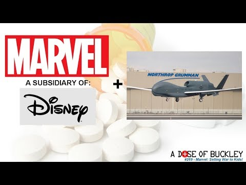 Marvel: Selling War to Kids! - A Dose of Buckley