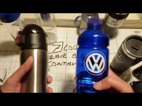 COOL Freebie Beverage  Promotional Containers