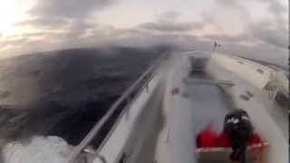 N120 Delivery - Rough Seas - 8-2-13