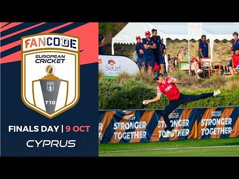 🔴 FanCode European Cricket T10 Cyprus,  Limassol | Finals Day T10 Live Cricket