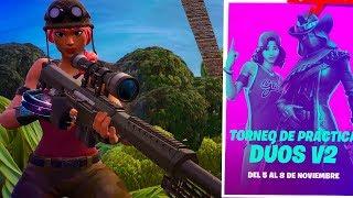 ARRASAMOS CON TODO en el TORNEO de DUOS!! | Fortnite Battle Royale | Rubinho vlc