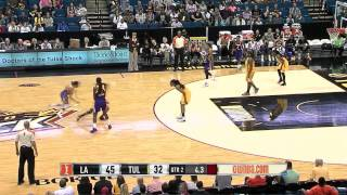 Condensed Game: Los Angeles Sparks vs. Tulsa Shock,6/28/2014