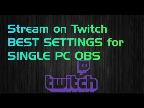 Stream on Twitch without Lag OBS Settings KingGeorgeTV