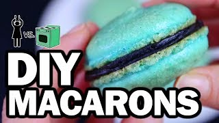DIY Macarons, Corinne VS Cooking #14 by : ThreadBanger