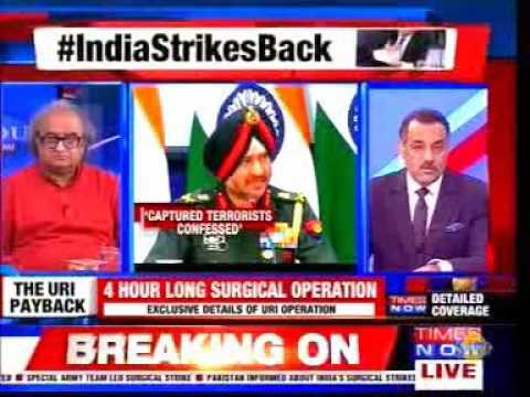 Times Now Newshour - India Strikes Back (featuring G Parthasarathy)