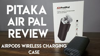 Pitaka Air Pal Review - AirPods Wireless Charging Case with Battery Bank