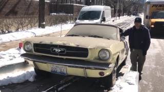 1965 Ford Mustang Garage Find