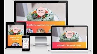 Cake Shop Layout Pack for Divi Builder