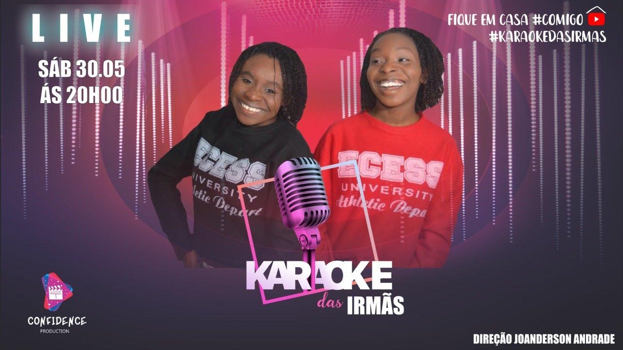 """Live Luana & Luara """"Karaokê das Irmãs"""" - #FiqueEmCasa e Cante #Comigo"""